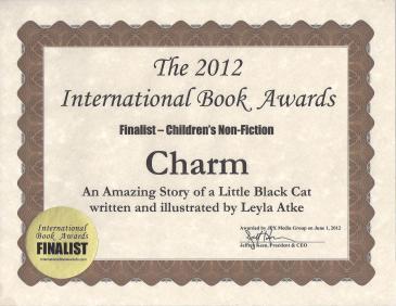 My International Book Awards Certificate