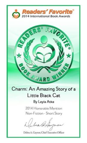 Readers Favorite Book Award Winner Certificate Leyla Atke